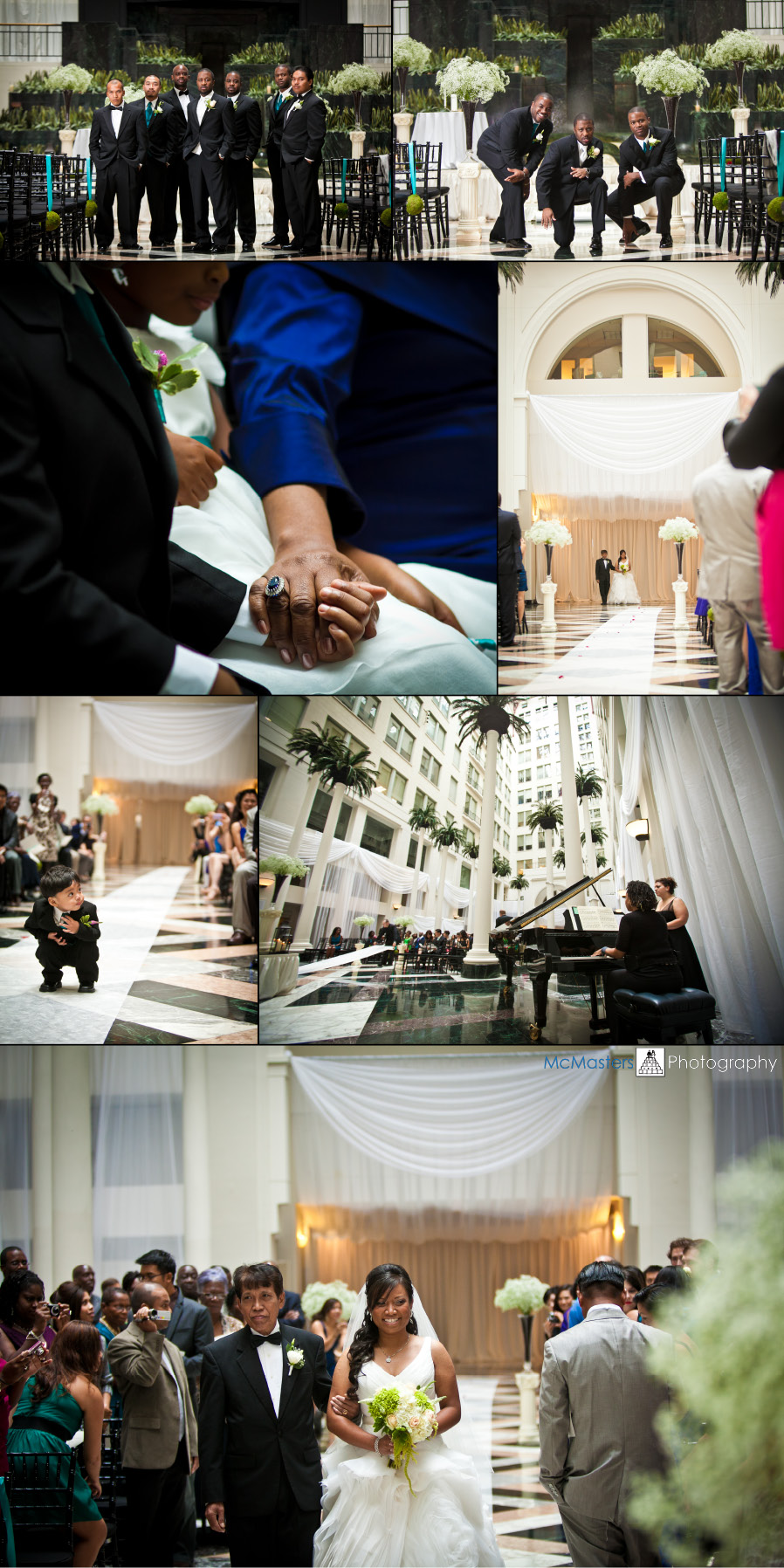 curtis center wedding - tendenza - cescaphe - philadelphia