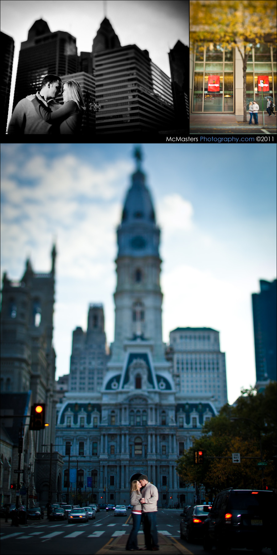 Occupy Philadelphia Engagement photos