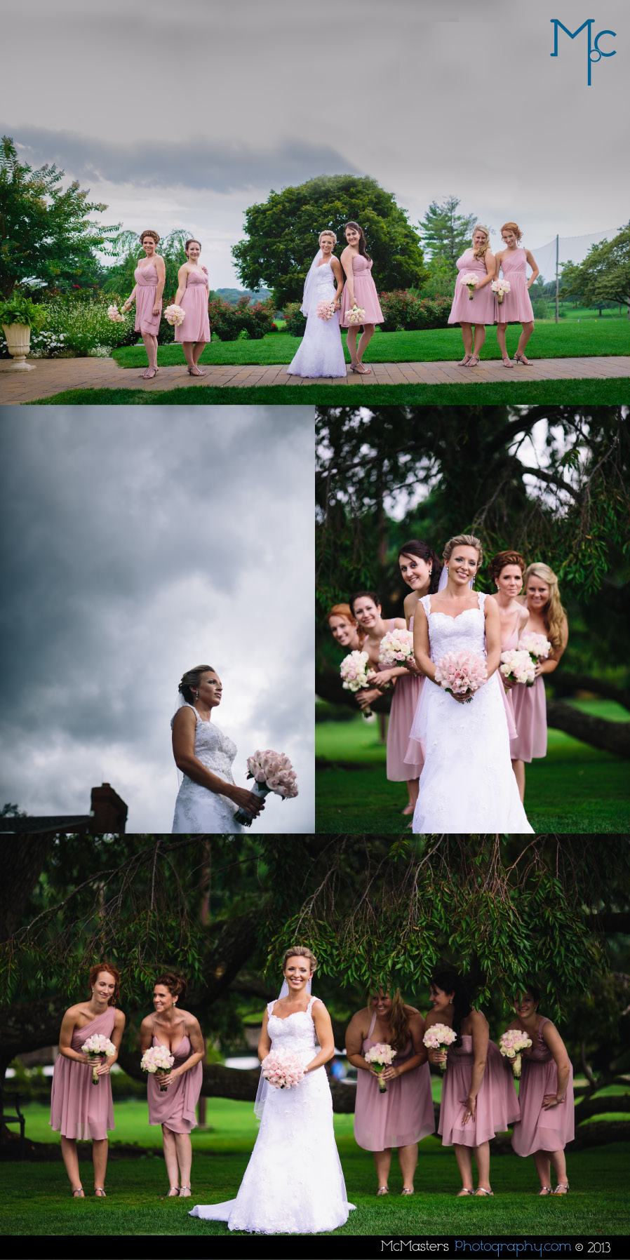 Penn Oaks Country Club Wedding Photos