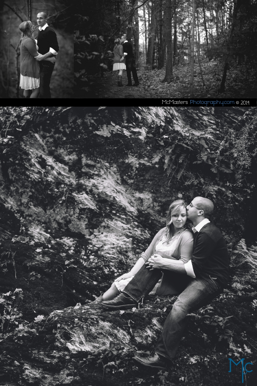 Old Mill Engagement Photos