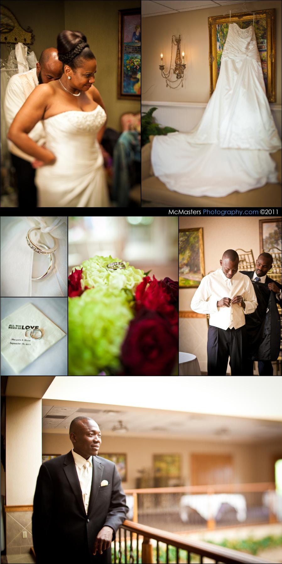 talamore country club wedding photos