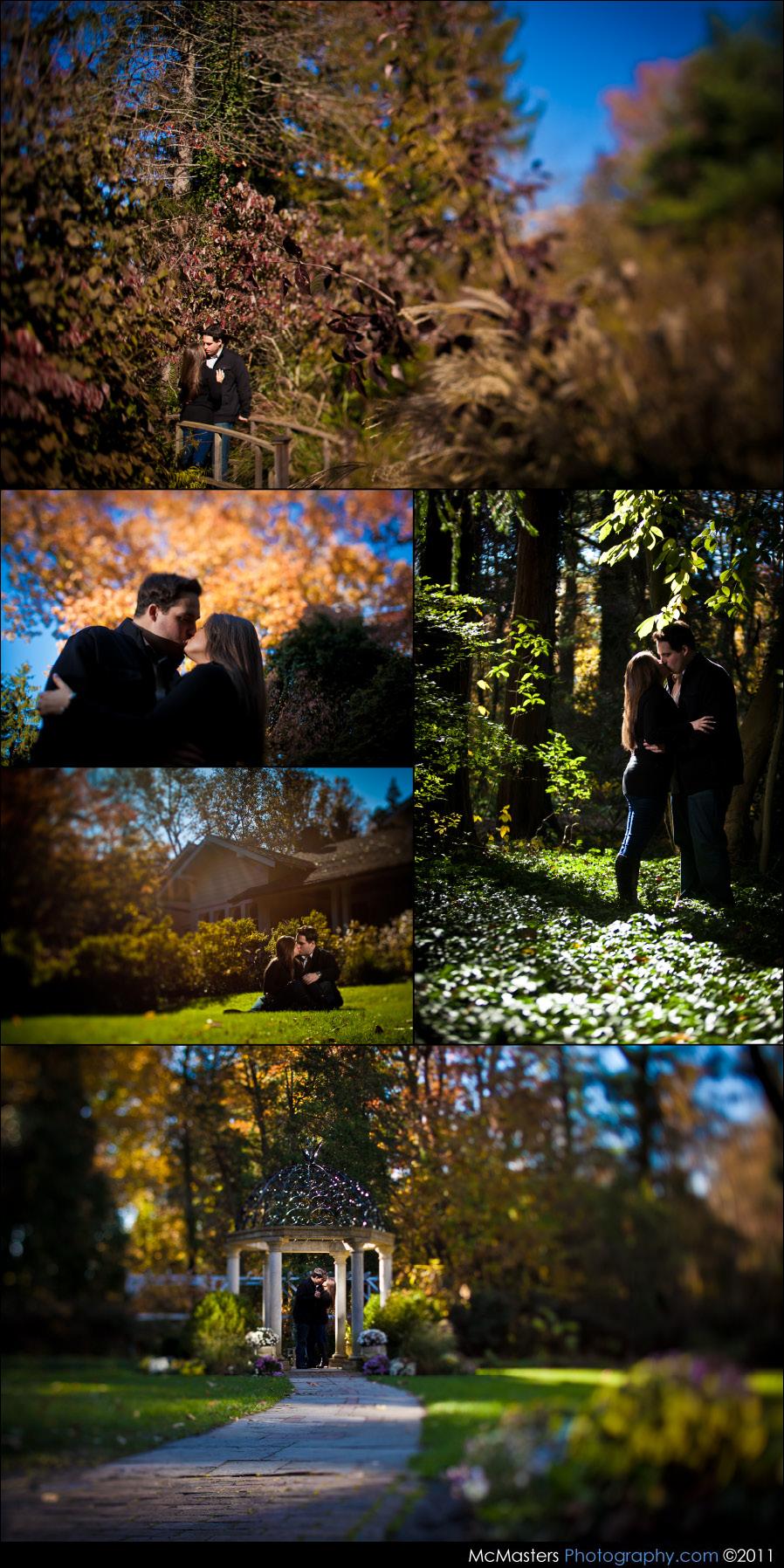 Sayen Gardens wedding photos