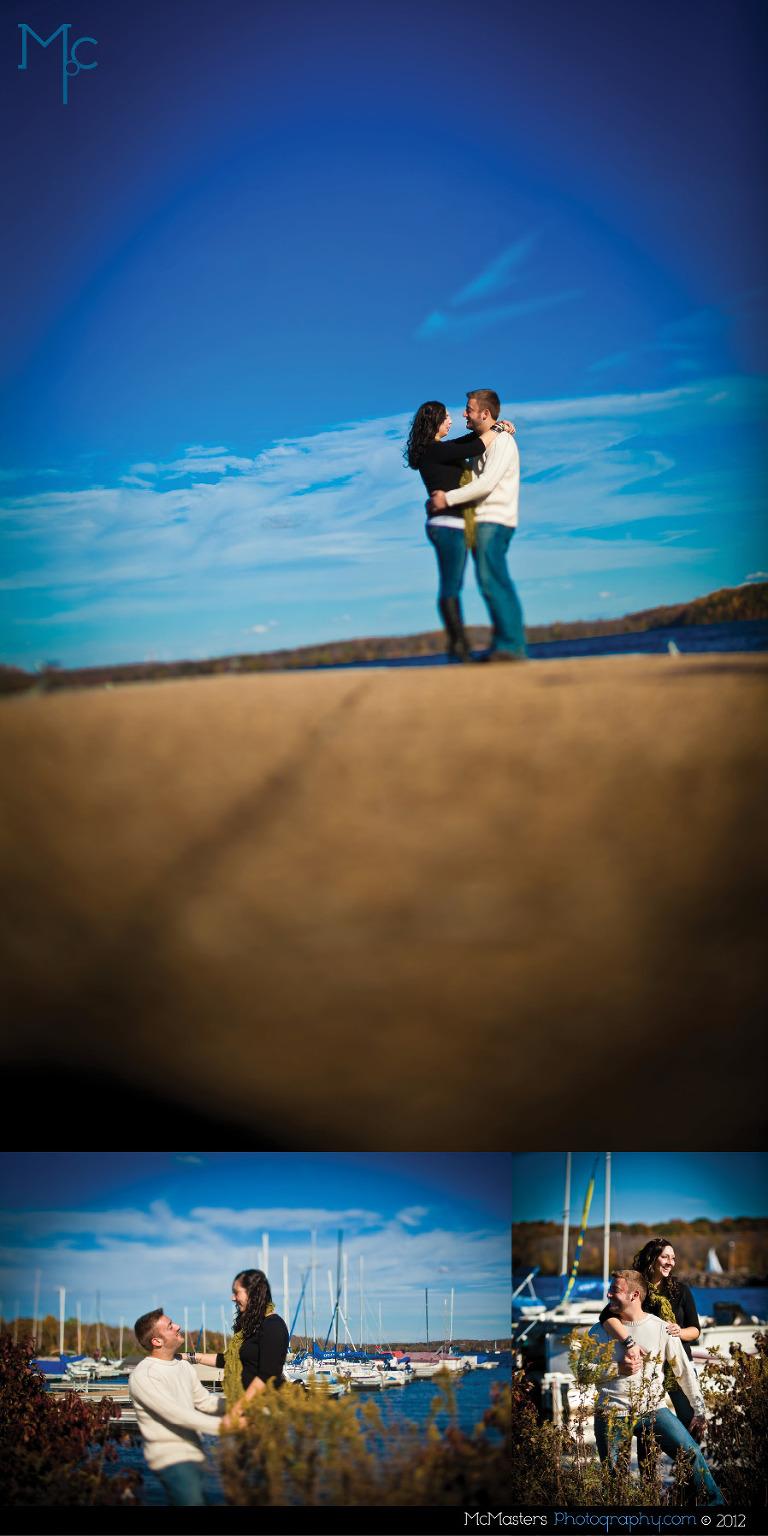 Lake Nockamixon Engagement Session | Autumn & Nick