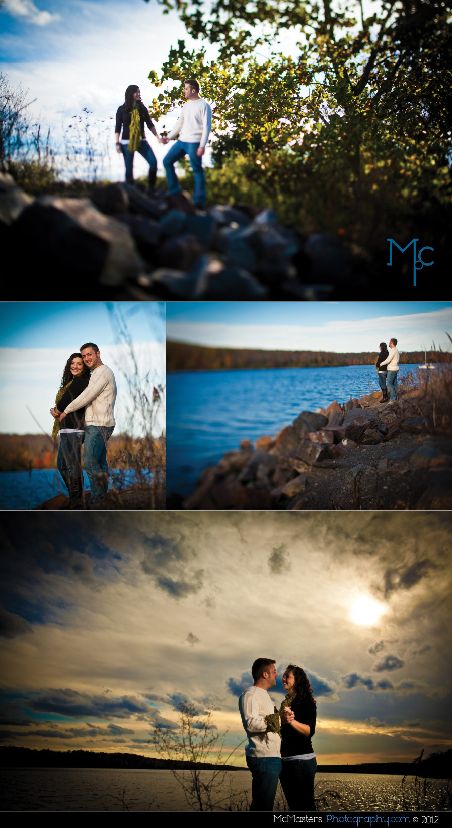 Lake Nockamixon Engagement Session