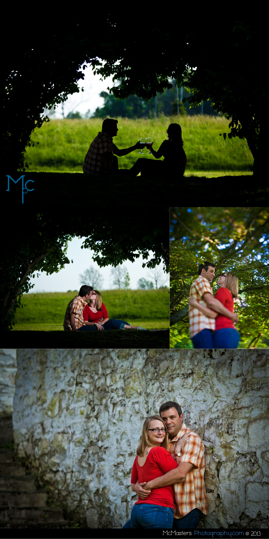 Valley Forge Engagement Photos