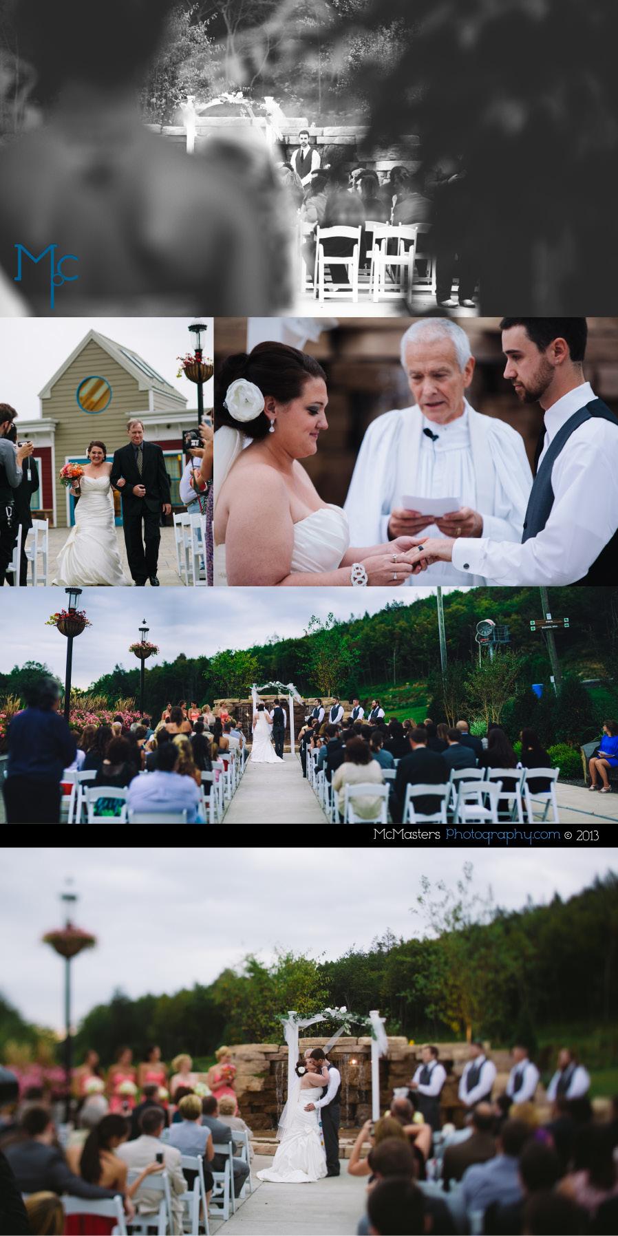 Blue Mountain Ski Area Wedding Photos