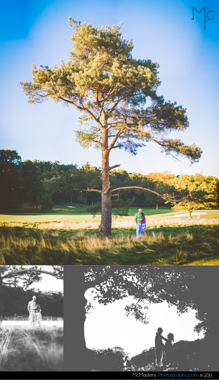 Huntingdon Valley Country Club Engagement Photos