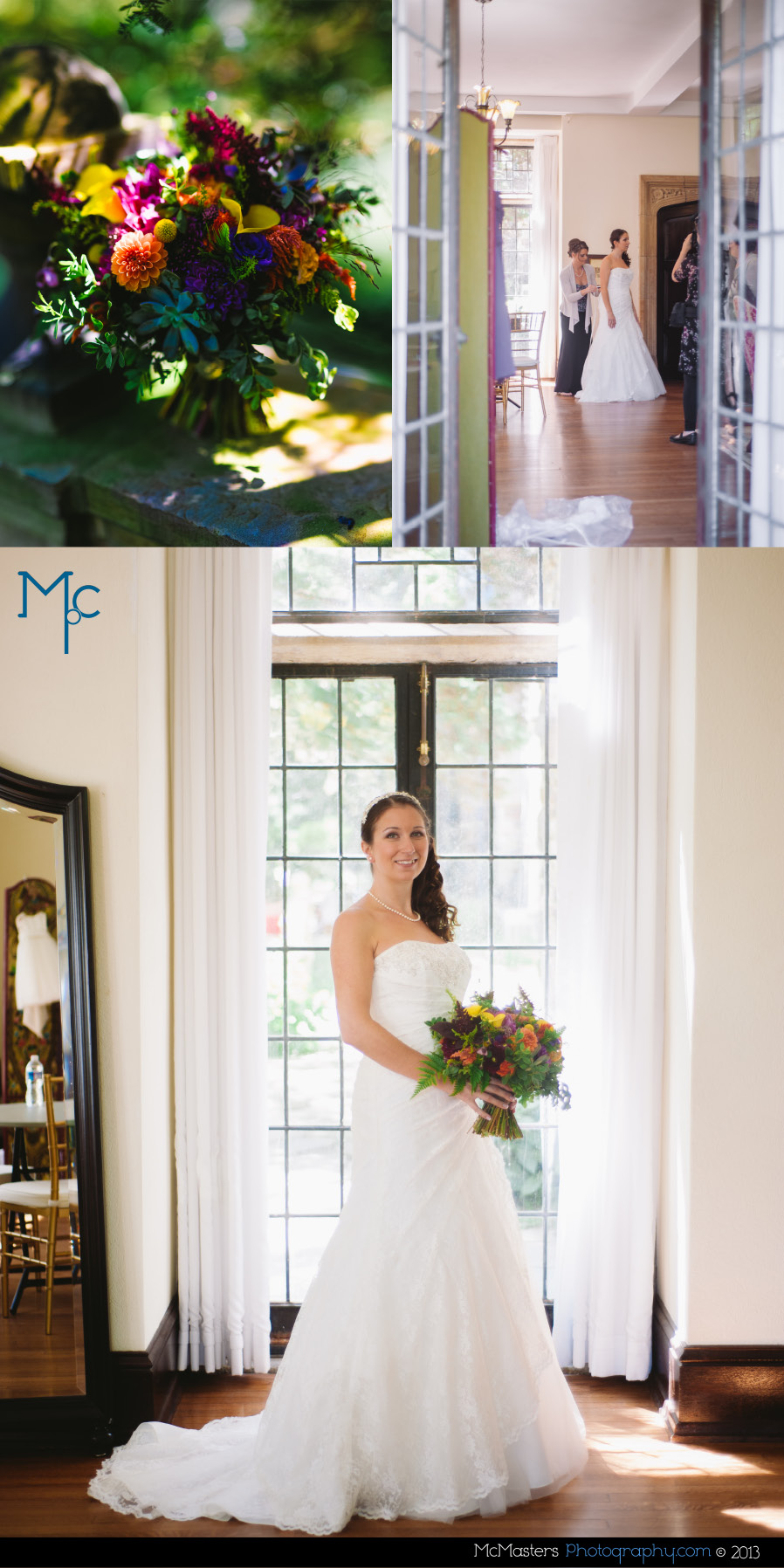 Ridley Creek Mansion Wedding Photos