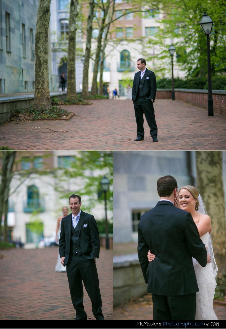 Downtown Club Wedding Photos