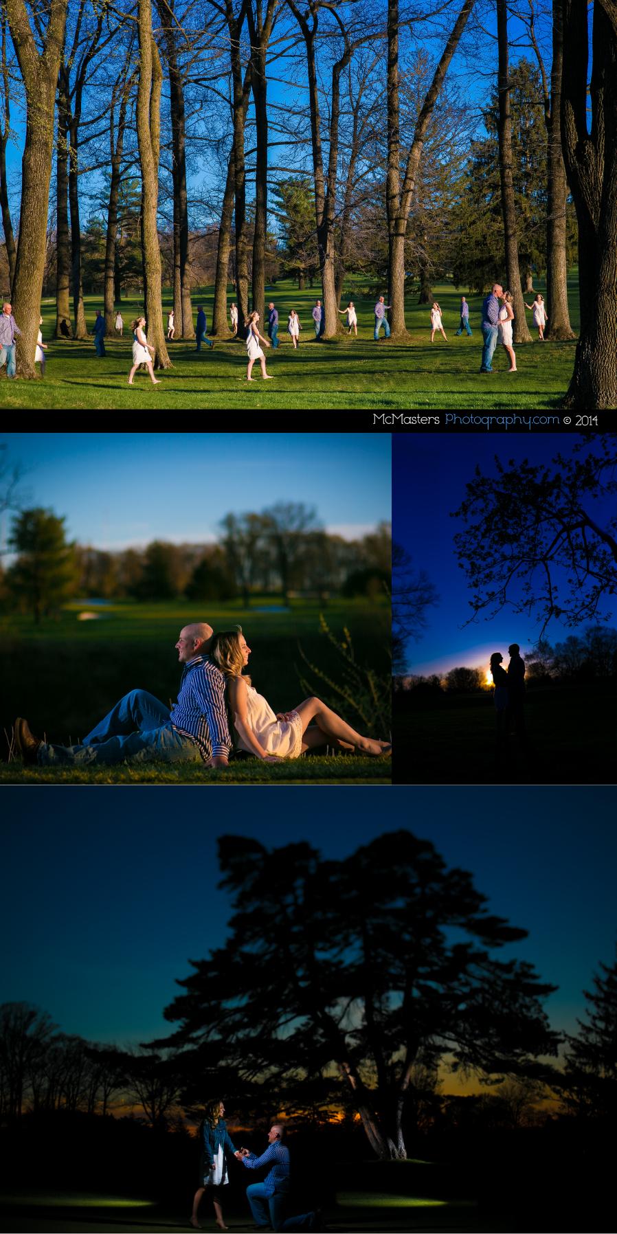 Sunnybrook Golf Club Engagement Photos