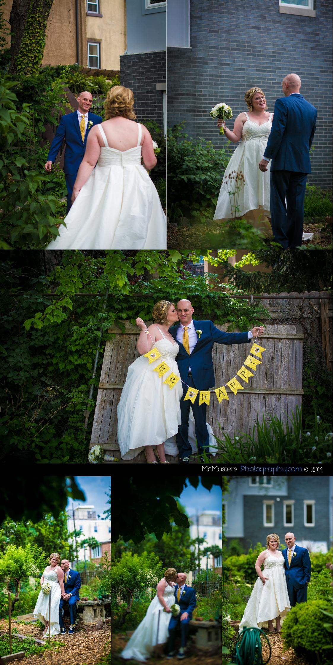 Maas Building Wedding Photos