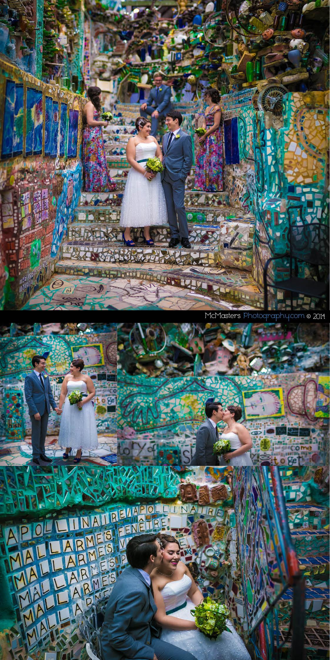 philadelphia magic gardens wedding lindsay mike