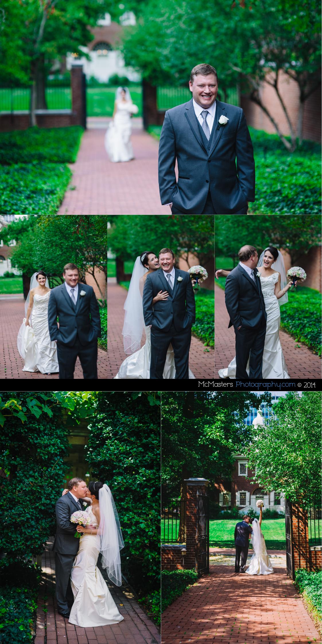 Omni Hotel Wedding Photos