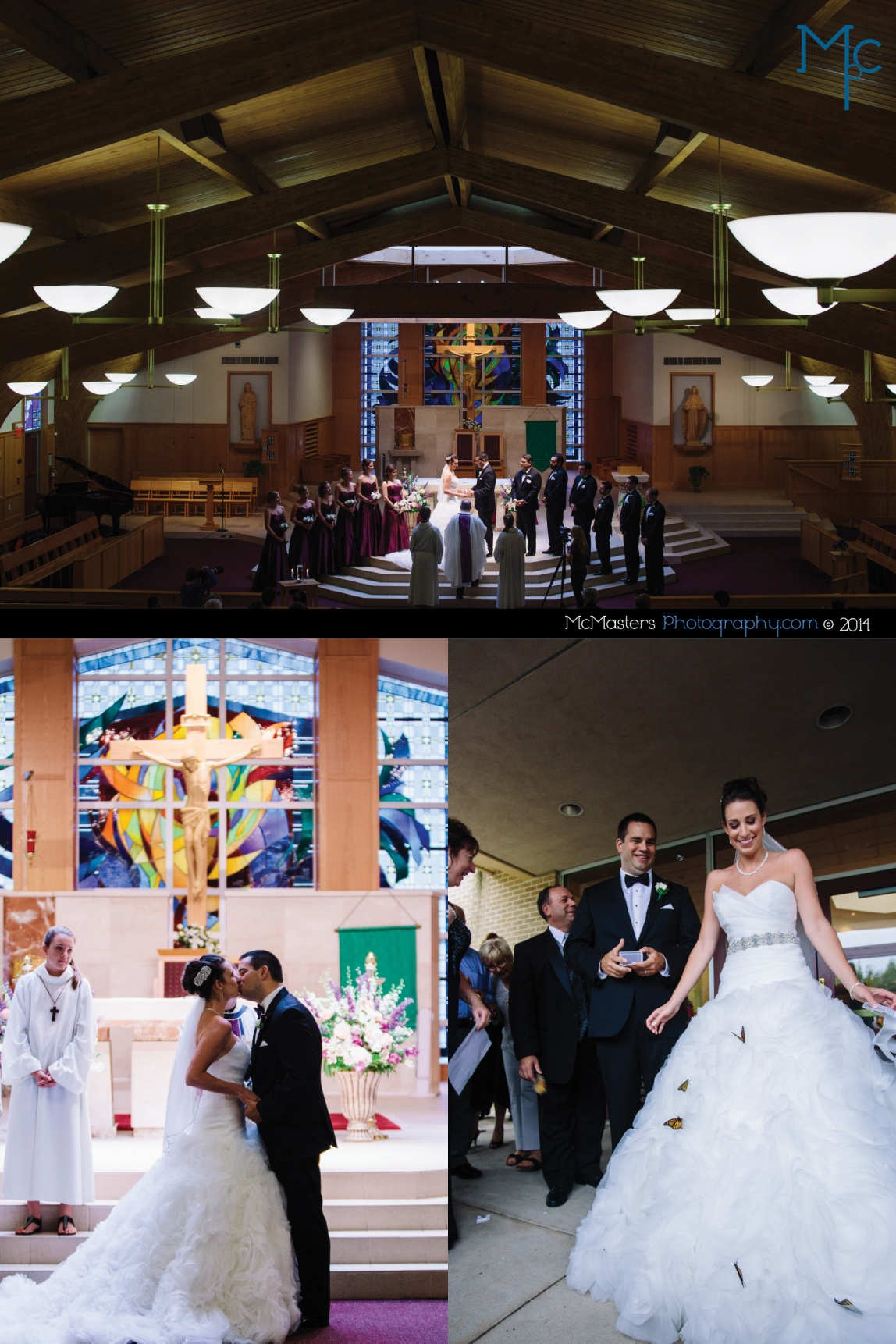 Michener Museum Wedding Photos
