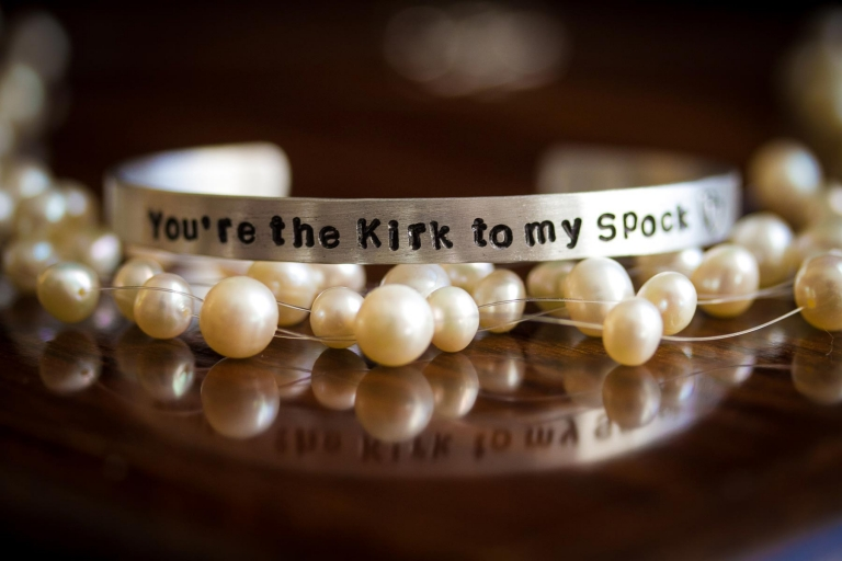 You are the kirk to my spock bracelet
